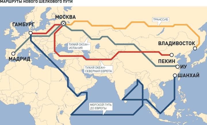 Инвестиционный пояс и дорожная карта Китая