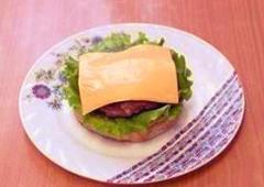 Гамбургер по рецепту Спанч Боба 16