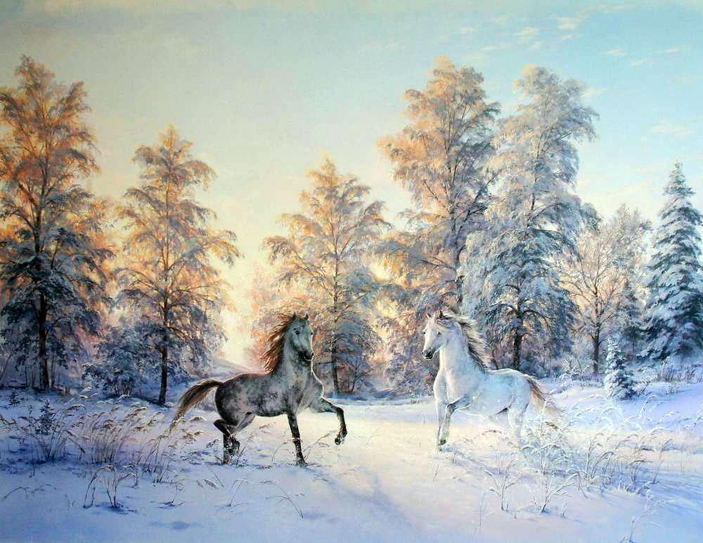 С любовью к природе. Невероятные картины Виктора Юшкевич