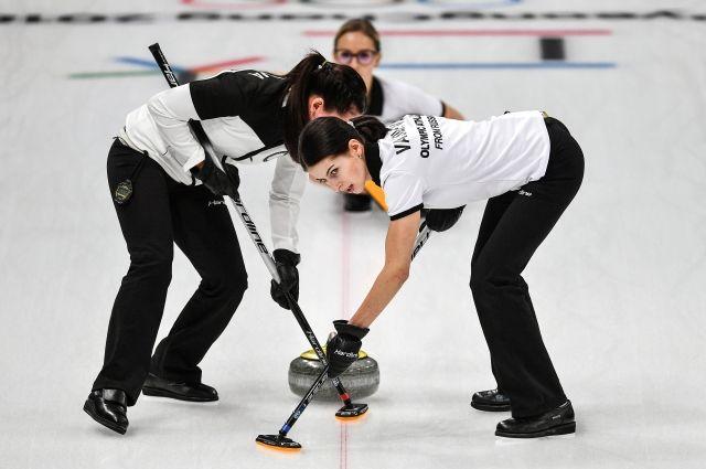 Российские керлингистки проиграли шведкам на Олимпиаде