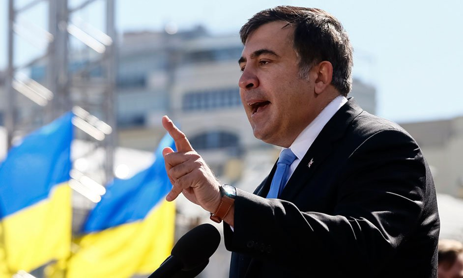 Михаил Саакашвили буянит в Киеве: Я любой ценой добьюсь импичмента Порошенко