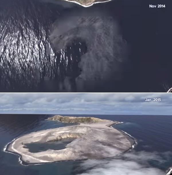 На новом острове ученые обна…