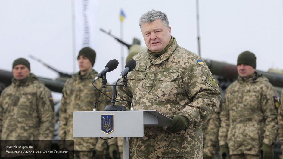 Украинский генерал рассказал о стремлении Порошенко строить карьеру в спецслужбах СССР
