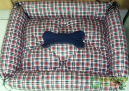 0楼:2_宠物床墊DIY~双面可用 正面