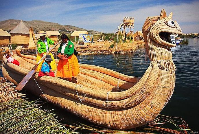 Чудеса озера Титикака