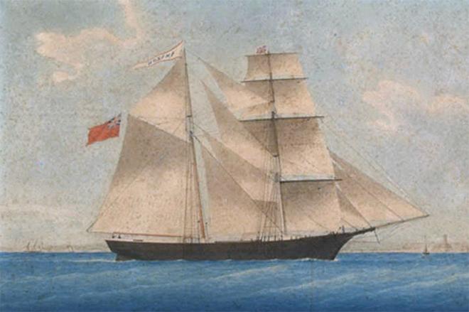 Летучий Голландец: история реального корабля-призрака (5 фото)