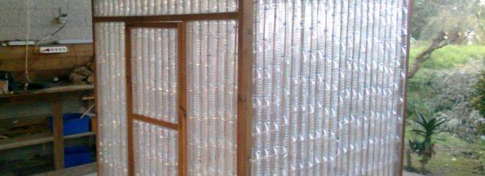 Как самостоятельно изготовить парник из пластиковых бутылок
