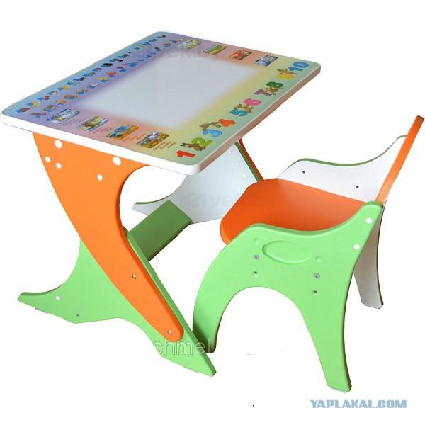 Детский стол и стул своими руками