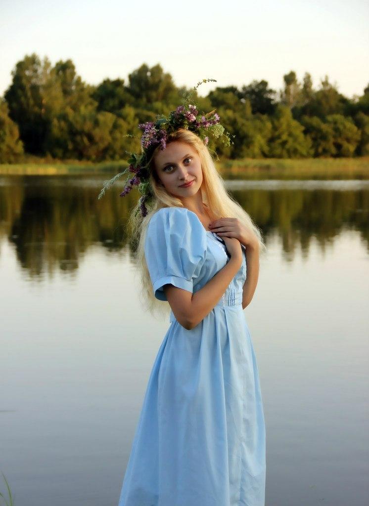 Славянские девушки в фотографиях