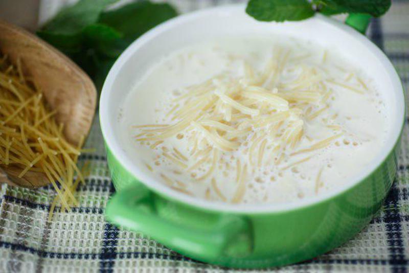 молочный суп