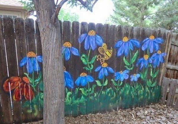 Необычные заборы для тех, кого достал профлист Радость, дом, забор, прикол, строительство, цвет, юмор