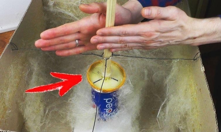 Как сделать аппарат для сахарной ваты своими руками в домашних условиях