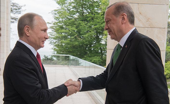 Почему для встречи с Эрдоган…