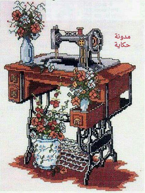Схемы вышивки швейных машинок