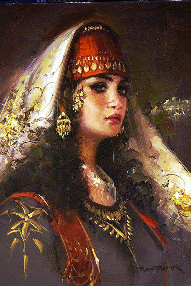 Восточные красавицы от Рэмзи Ташкыран