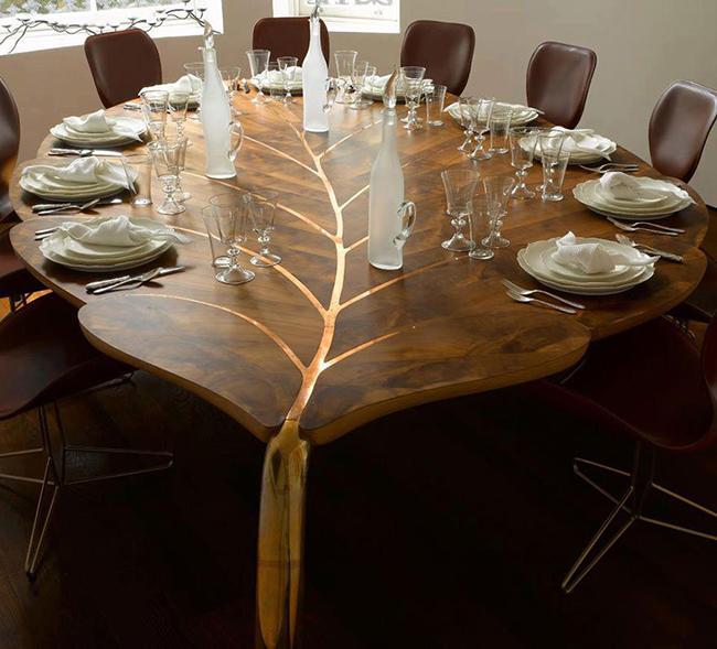 15 волшебных столов. Дизайнеры постарались, чтобы создать восхитительную мебель!