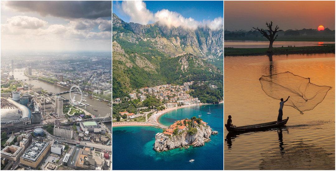 Невероятные снимки из путешествий