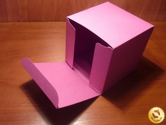 Картонная коробка своими руками фото