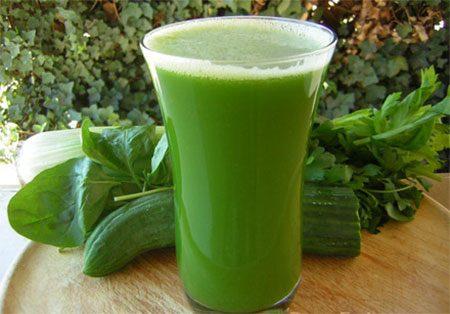 Лечение соками из лекарственных растений