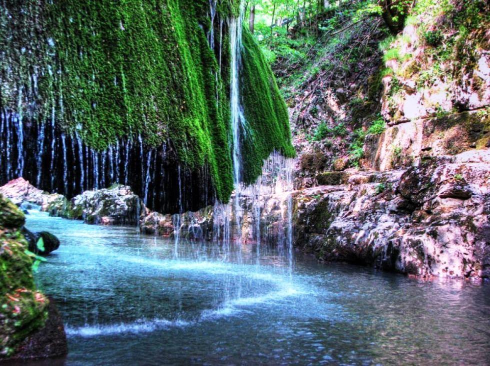 Водопад Бигар – природное чудо в форме гриба