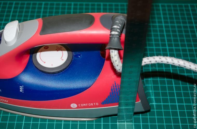 Как сшить чехол для утюга