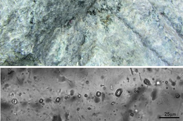 Геологи МГУ исследовали древние породы в районе Геологи МГУ им. Ломоносова