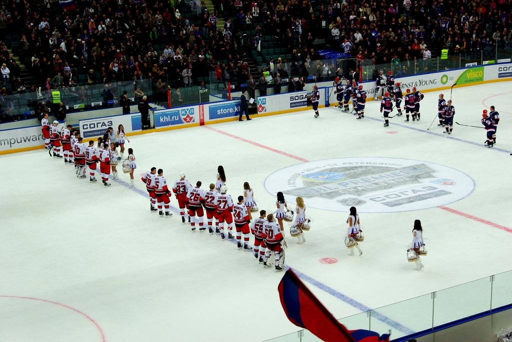 Салют, концерт и парад: СКА отпраздновали чемпионство в Петербурге