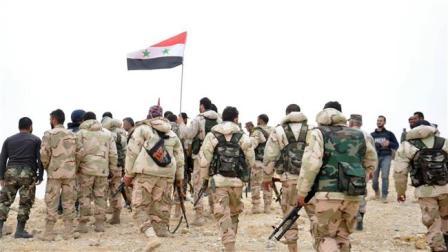 Сначала года сирийская армия освободила отДАИШ более 4000 кв. км