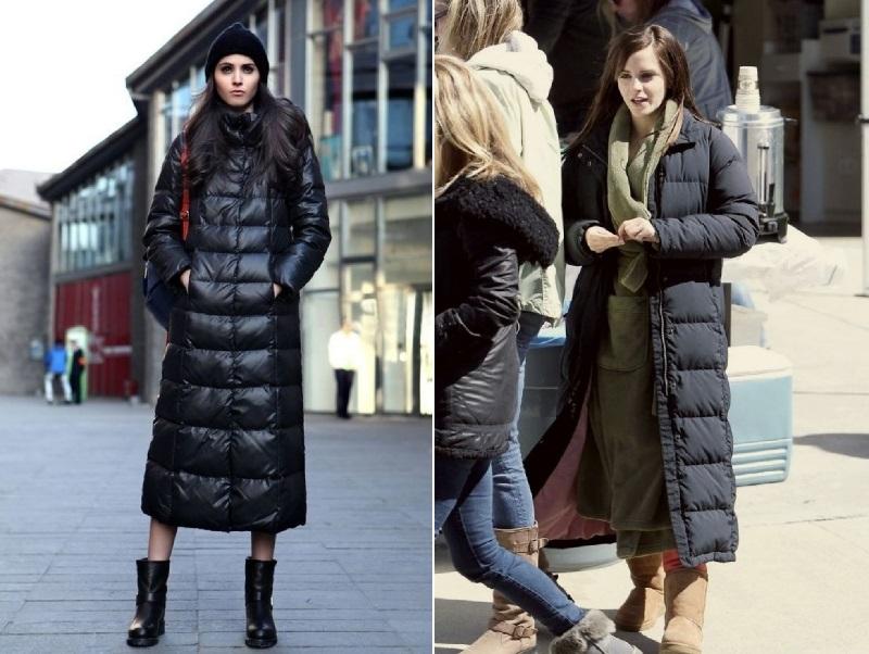 как стильно одеваться зимой 2018