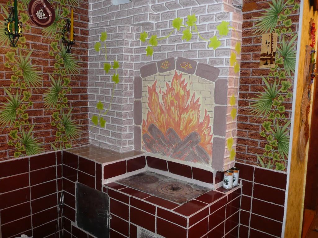 Декор печей своими руками фото 16