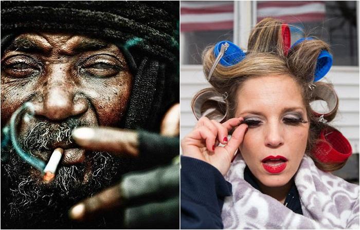Колоритные уличные фотографии известных стрит-фотографов из разных стран