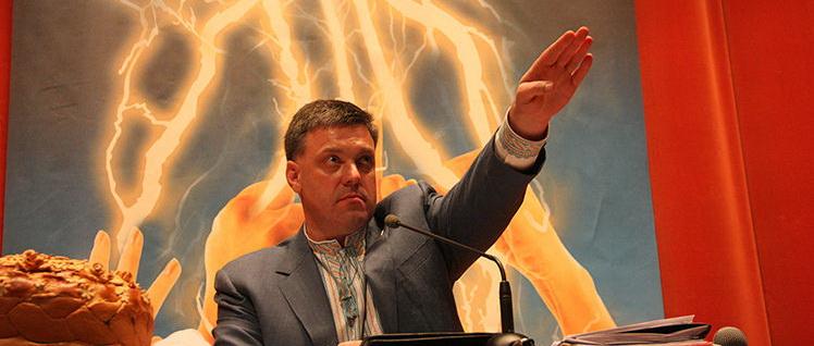 Названа сумма, которую ежемесячно получала партия Тягнибока от Януковича