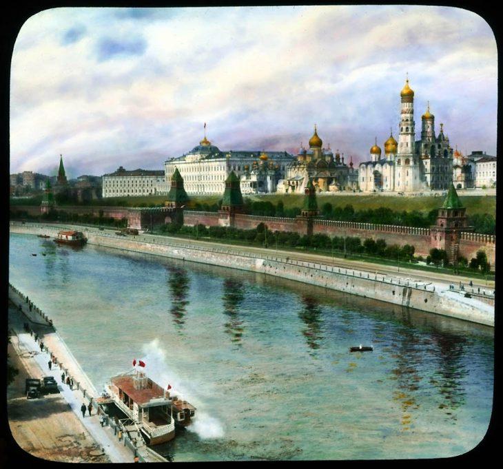Москва 30е годы фото (цветные)