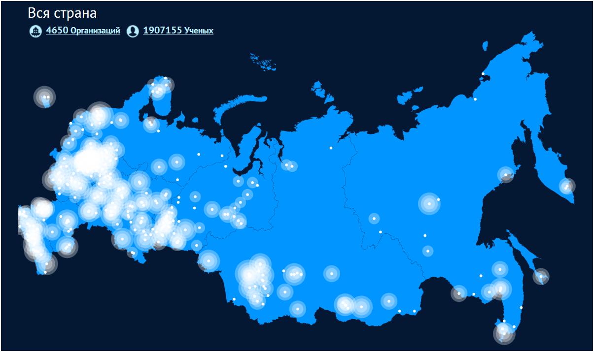 «Карта российской науки»: 450 миллионов на ветер