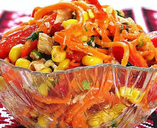 Яркие краски: готовится салат просто, а поедается быстро