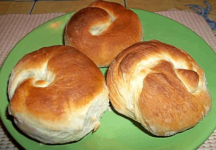 Домашние булочки с курагой