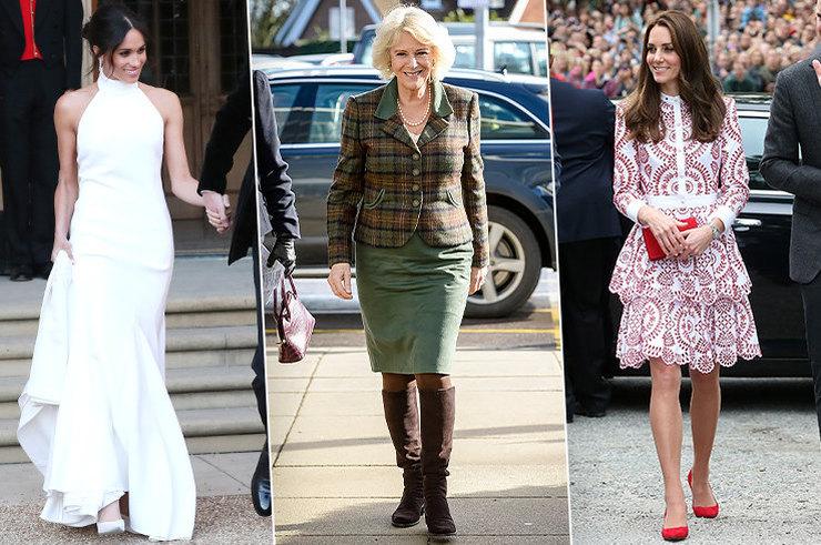 Тренды и бренды: что именно носят 6 главных модных икон королевской семьи