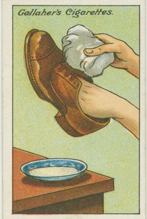 Солевые разводы на обуви.