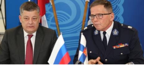 Полицейские Москвы и Хельсинки подписали договор о продвижении сотрудничества полицейских ведомств