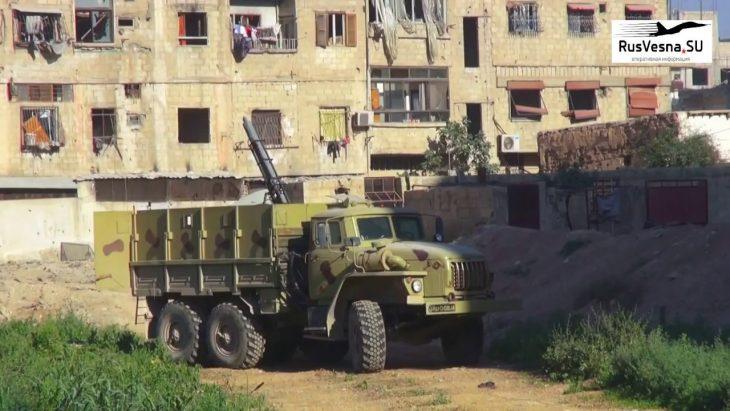 Зачистка «Ярмукского котла»: работа «Змея Горыныча» в Сирии попала на видео