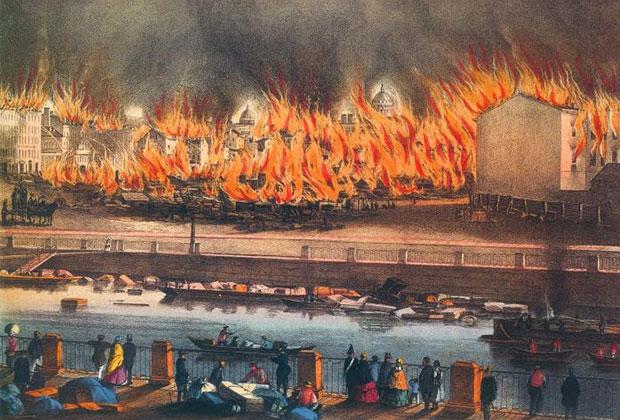 Пожар в Петербурге, 1862 год