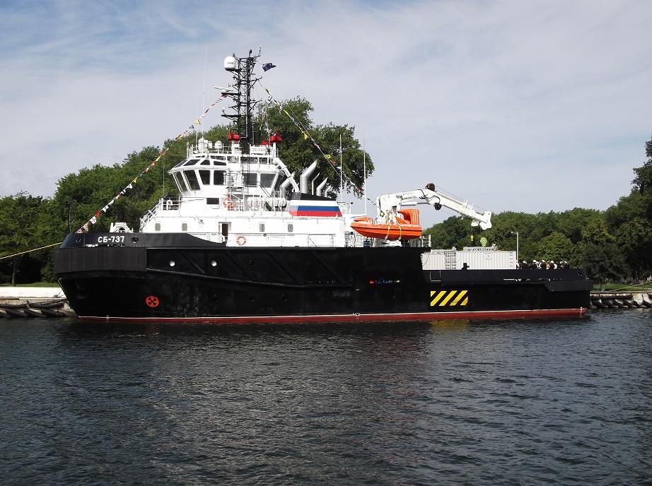 ВМФ России получил два спасательных буксира проекта 02980