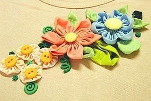 цветы из ткани ручной работы для начинающих