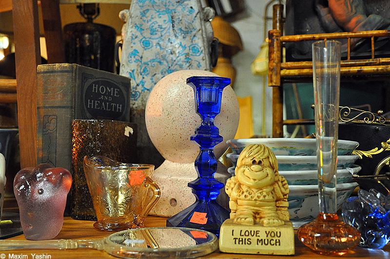 Antiques shops 14 Антикварные магазины в США