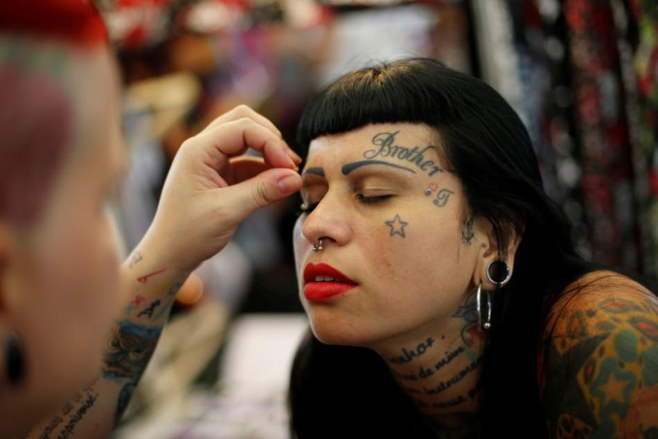 Неделя татуировок в Бразилии.