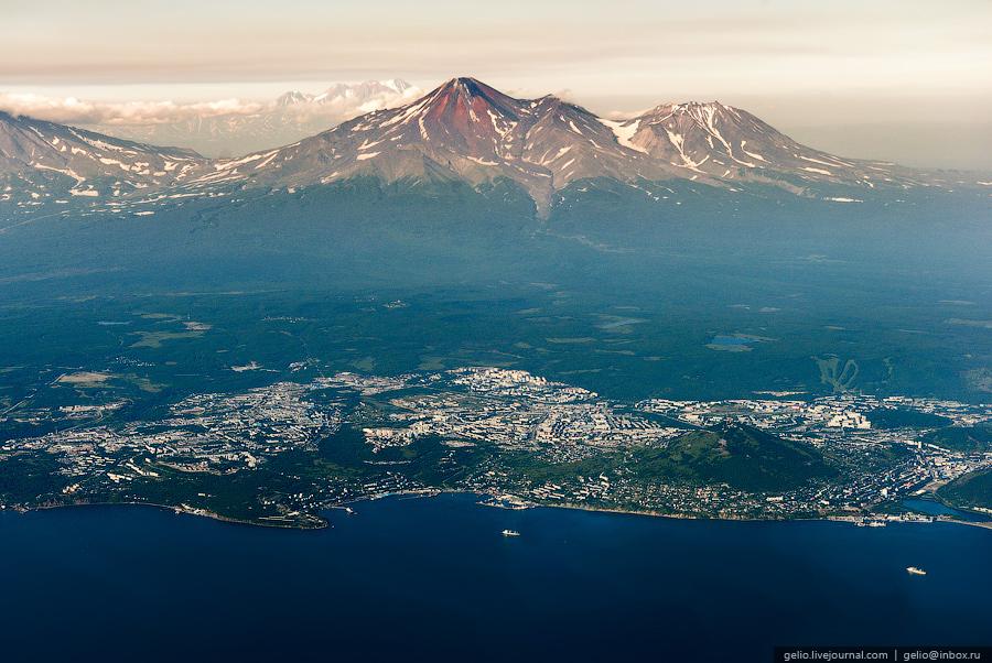 Камчатка: как сегодня выглядит край российской земли  с высоты