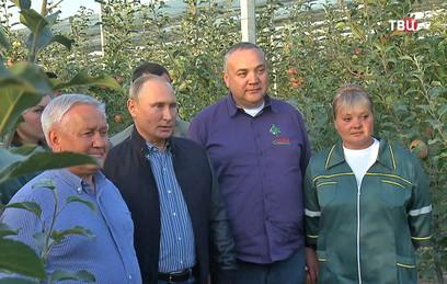 Путин поздравил аграриев с профессиональным праздником