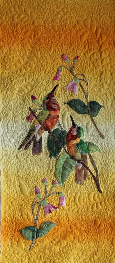 Hummingbird Garden, Sally Papin