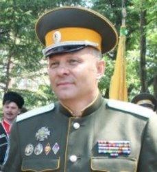 Атаман УВКО казачий полковник Мельников О.А.
