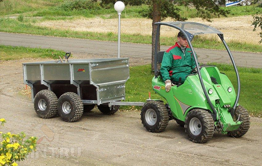 Мини трактор Беларус МТЗ 152Н - YouTube
